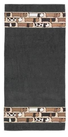 Полотенце 50x100 Feiler Zamperl серое