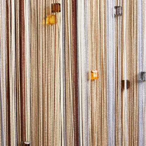 Радуга с кубиками Серебро, беж, шампань, коричневая. Ш-300см., В-280см. Арт.103