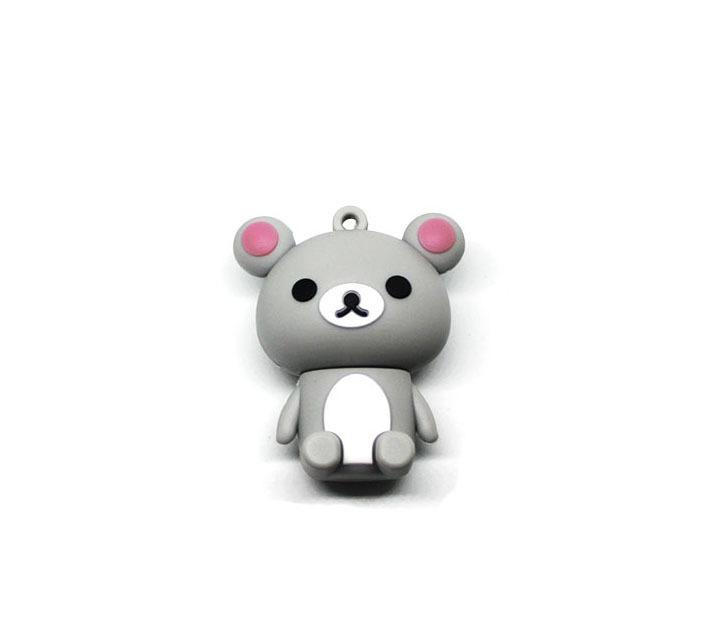 usb-флешка медведь серый оптом
