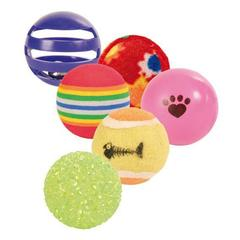 Trixie набор мячиков диаметром 3,5-4см, 6 шт.