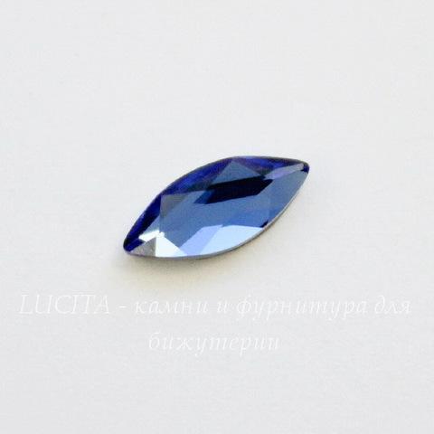 2201 Стразы Сваровски горячей фиксации наветте Sapphire (8х3,5 мм)