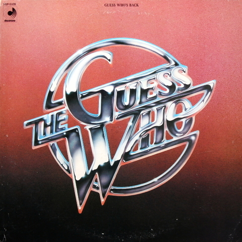 The Guess Who ‎/ Guess Who's Back (LP)