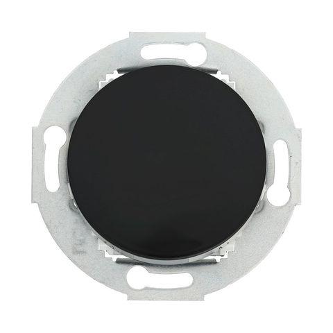 Выключатель одноклавишный (схема 1) 10А, 250В. Цвет Чёрный. LK Studio Vintage (ЛК Студио Винтаж). 880108-1