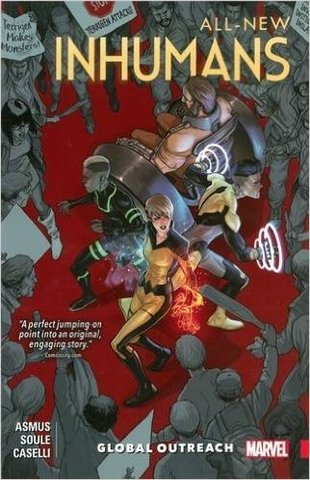 All-New Inhumans vol 1: Global Outreach