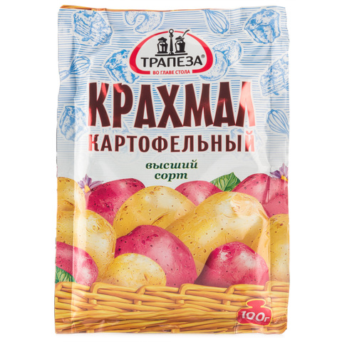Крахмал картофельный Трапеза 100г