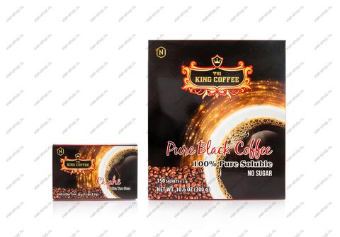 Вьетнамский растворимый кофе TNI King Coffee Pure Black, 15 - 150 пак.