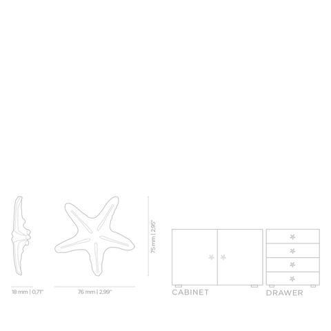 Мебельная ручка PullCast LINCKIA OC2013