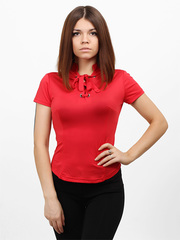 3190-1 блузка женская, красная