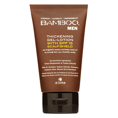 Alterna Bamboo Men Thickening Gel Lotion with SPF15 - Утолщающий гель-лосьон