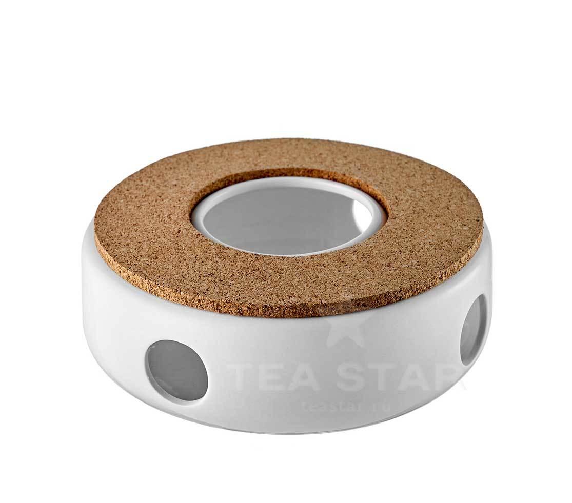Керамические подставки Подставка для подогрева чайника керамическая с буковым диском podstavka_dlia_podogreva_svechey.jpg