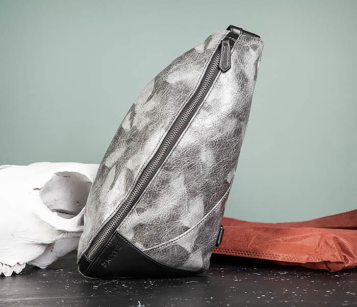 BAG487-3 Мужская сумка «банан» через плечо