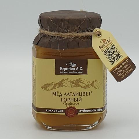 Мёд натуральный Алтайцвет Горный БЕРЕСТОВ А.С., 200 гр