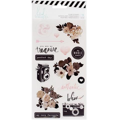 Стикеры на прозрачной основе Heidi Swapp Magnolia Jane Clear Stickers