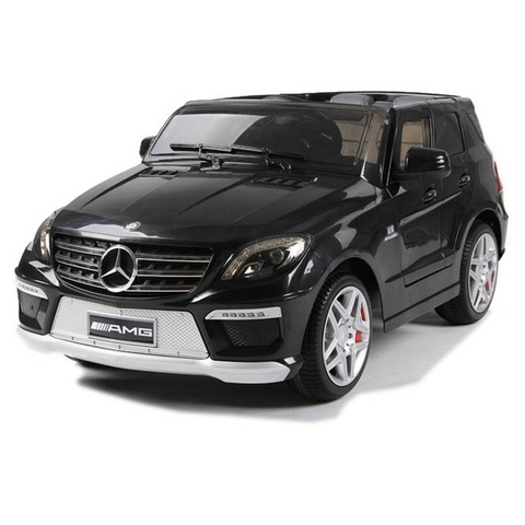 Детский электромобиль Joy Automatic Mercedes Benz ML63 AMG Lux Black