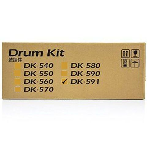 Блок фотобарабана Kyocera DK-591 для Kyocera FS-C5150DN/ ECOSYS P6021cdn (302KT93010)