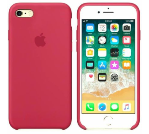 iPhone 6/6s Silicone Case  Rose Red
