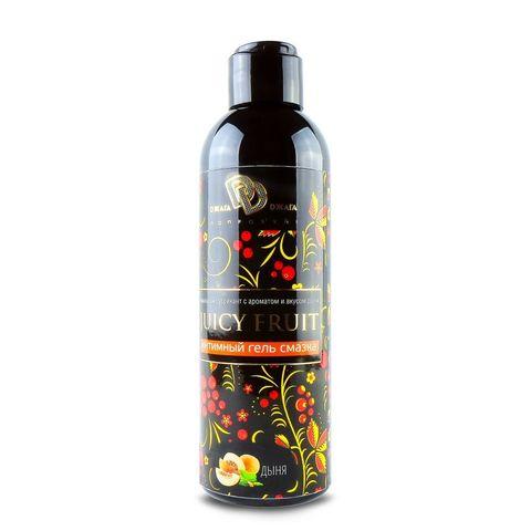 Интимный гель на водной основе JUICY FRUIT с ароматом дыни - 200 мл.