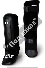 Защита ног классическая TITLE BOXING PRO-STYLE SHIN/INSTEP GUARDS