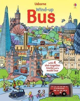 Kitab Wind-Up Bus | Fiona Watt