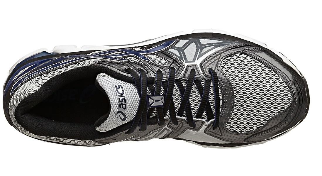 Мужские беговые кроссовки  Asics Gel-Fortify (T521N 9149) серые фото сверху