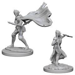 Pathfinder Deep Cuts Unpainted Miniatures - Elf Female Rogue
