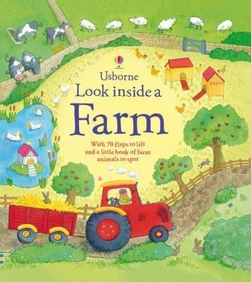 Kitab Look Inside a Farm   Katie Daynes