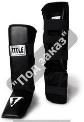 Защита ног TITLE BOXING VINYL SHIN/INSTEP GUARDS