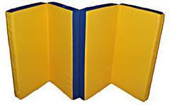 Мат гимнастический складной, иск. кожа, 1х2х0.1 м (в 4 сложения).