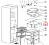 Панель овощного ящика для холодильника Indesit (Индезит)/Ariston (Аристон) 290795