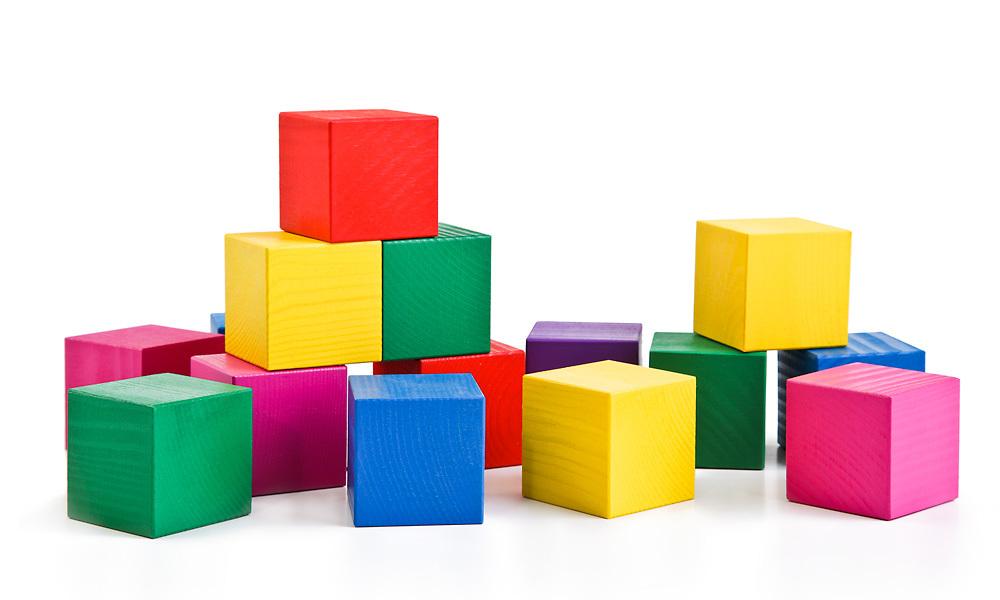 Кубики Цветные Томик. Россия 190 рублей