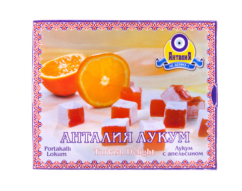 Рахат лукум Анталия апельсиновый, 125 г