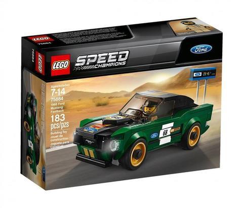 LEGO Speed Champions: 1968 Форд Мустанг Фастбэк 75884 — 1968 Ford Mustang Fastback  — Лего Спид чампионс Чемпионы скорости