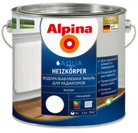 Alpina Heizkoerper / Альпина эмаль для радиаторов