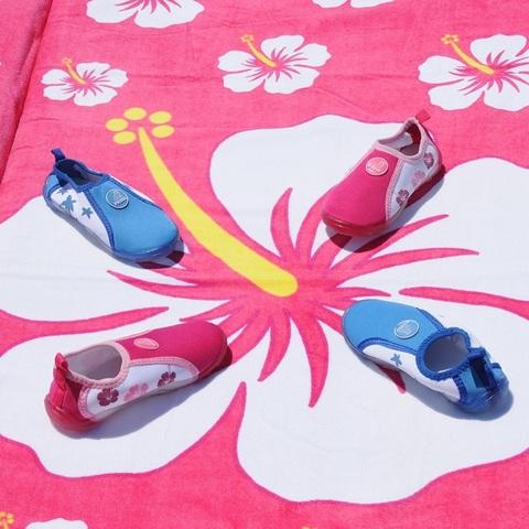 Аква-обувь для пляжа, розовая, р. 22-28