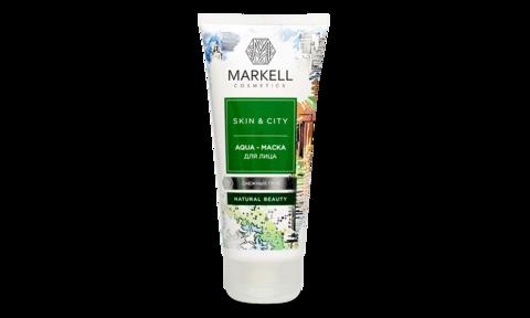 Markell Skin&City Aqua-маска для лица Снежный гриб 100мл