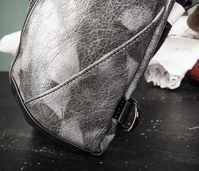 BAG487-3 Мужская сумка «банан» через плечо фото 06