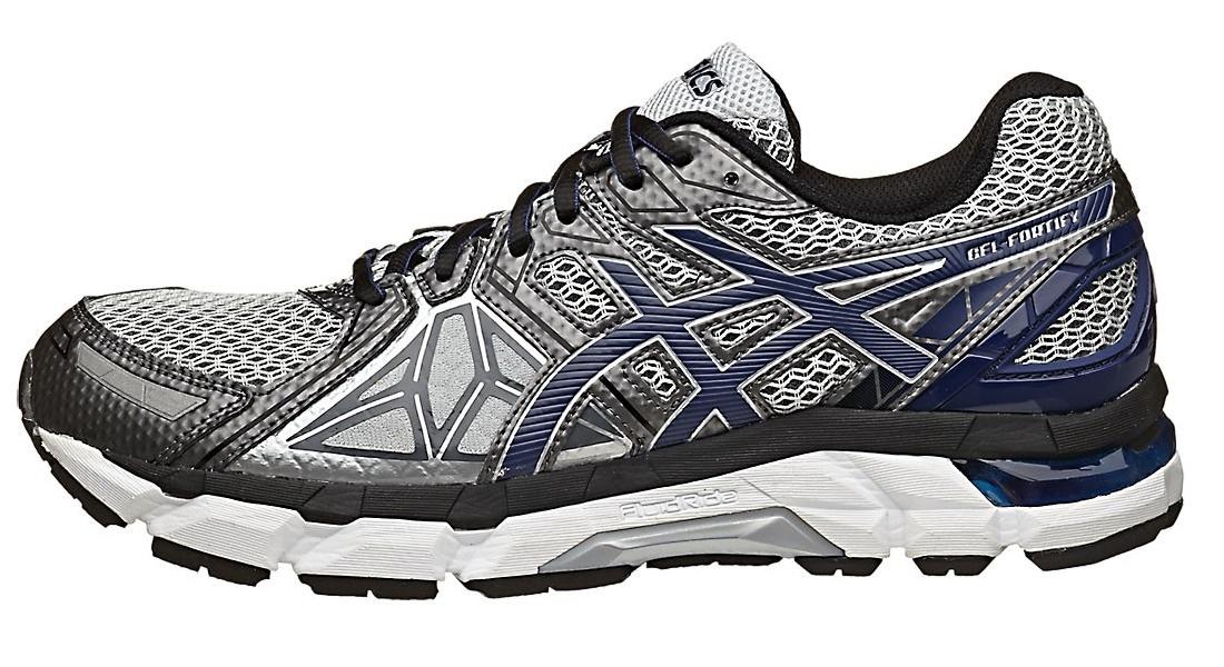 Мужская беговая обувь Asics Gel-Fortify (T521N 9149) серая фото