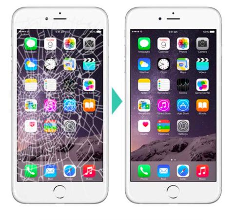 Замена стекла iPhone 6s 6s Plus
