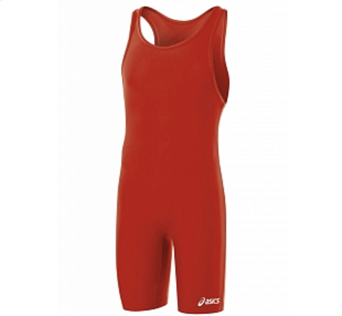 Трико борцовское ASICS JT200 0023 SOLID MODIFIED SINGLET (1)