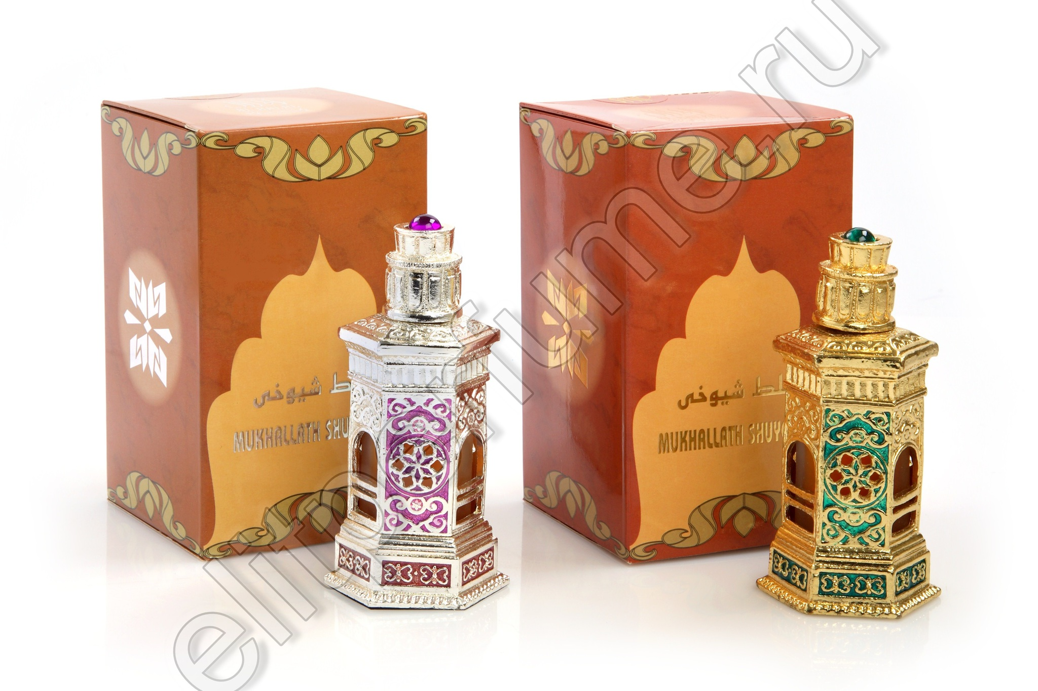 Пробники для Мухаллат Шуюхи (Золото / Серебро) Mukhallath Shuyookhi (Gold / Silver) 1 мл арабские масляные духи от Аль Харамайн Al Haramin Perfumes