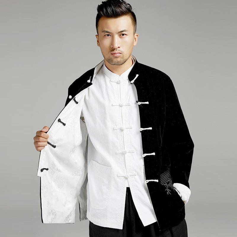 мужские рубашки Китайский традиционный пиджак Тан 8040575997_1776495549.jpg