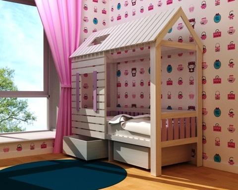 Кровать АМИ-1 с ящиками