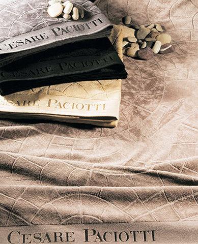 Полотенце 100х150 Cesare Paciotti Pave Jaco черное