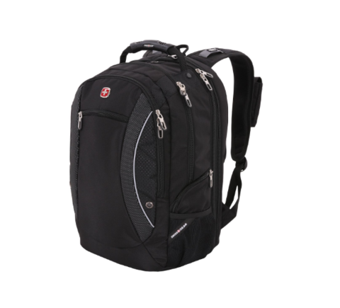 Рюкзак SWISSGEAR «SCANSMART», 17'', black, фото 3