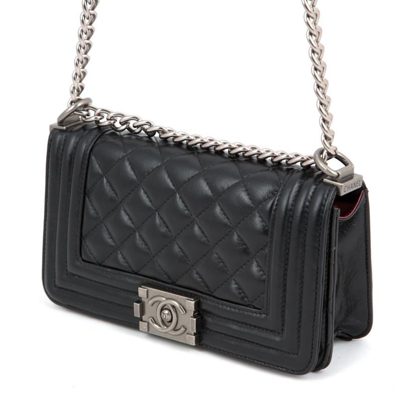 f3d68bee7a78 Купить копию женской сумки Chanel Le Boy Flap Black
