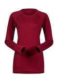Bergans термобелье футболка 8961 Snoull Lady Shirt Red