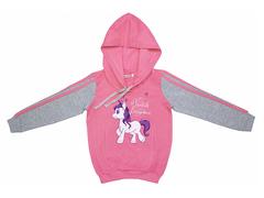 GT08-020вп толстовка детская, розовый меланж