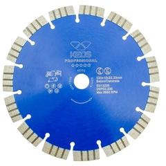 Диск алмазный KEOS Professional сегментный бетон 230х22,2 мм DBP02.230