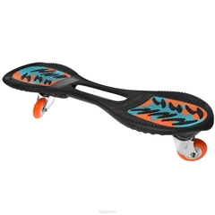 Двухколесный скейт, JDBug, Powersurfer RT169, голубой/оранжевый, до 100 кг
