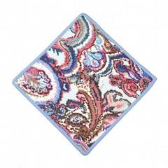 Элитная салфетка шенилловая Maharani sky 202 hellblau от Feiler